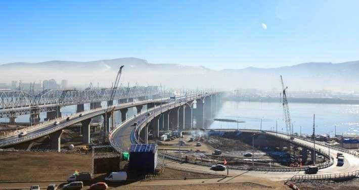 В Красноярске открыт четвёртый автомобильный мост через Енисей