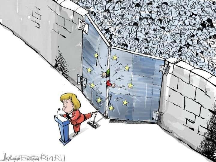 Меркель теряет авторитет и поддержку