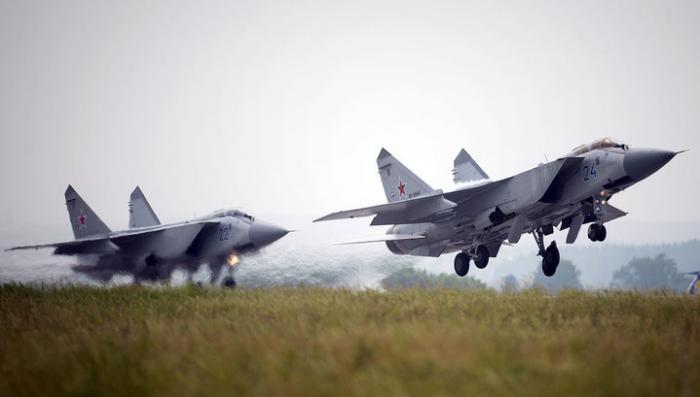 Во время учений на Камчатке пропал МиГ-31