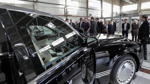 Президентский лимузин могут назвать «Мономахом»
