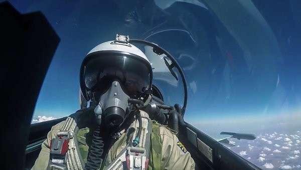 Боевой вылет авиации ВКС РФ в Сирии