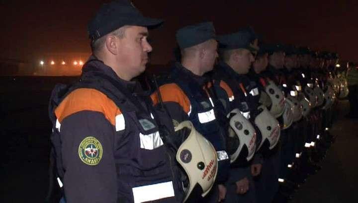 80 спасателей МЧС РФ смогут автономно работать на месте катастрофы