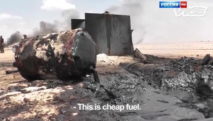 Евросоюз не брезгует покупать ворованную нефть у партнёров из ISIS