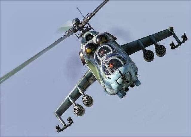 «Летающий танк»: в операции ВКС России в Сирии принимает участие легендарный Ми-24