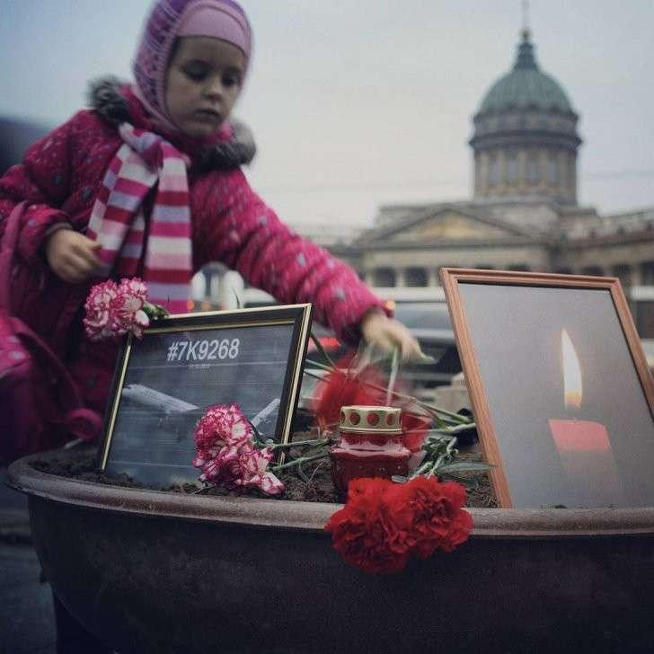 Тысячи людей по всему миру почтили память жертв авиакатастрофы в Египте