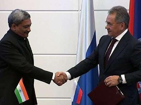 Сергей Шойгу объявил о совместных учениях войск России и Индии