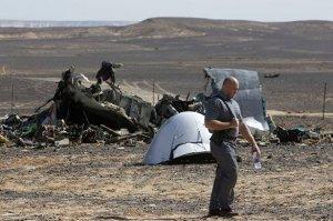 Следы взрыва на борту самолёта скрыть невозможно