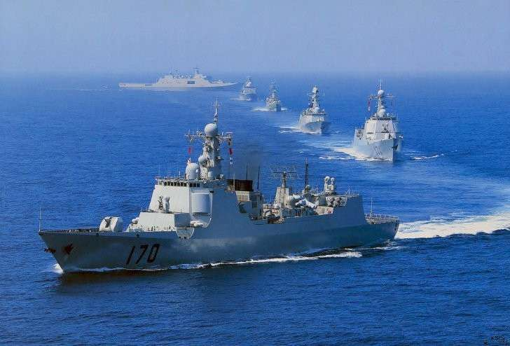 Напряжённость в Южно-Китайском море усиливается