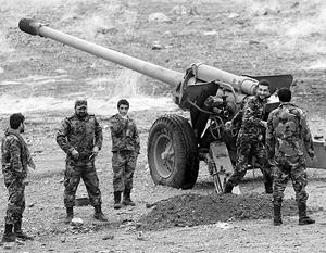 Сирийская армия одержала первую стратегическую победу