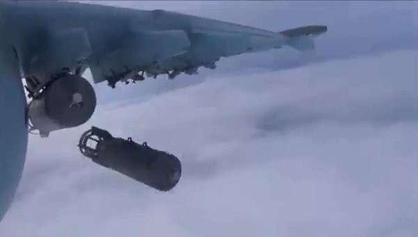 Самолеты российских Воздушно-космических сил в провинции Хама, архивное фото