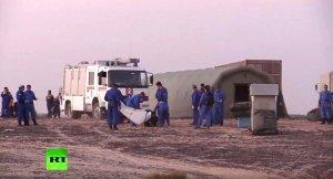 Спасатели МЧС продолжают поиск останков жертв крушения Airbus А321 в Египте