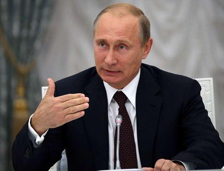Владимир Путин ловит момент