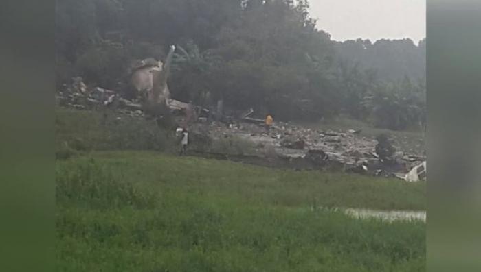 Взрыв Ан-12 в Южном Судане: 41 человек погиб, двое выжили
