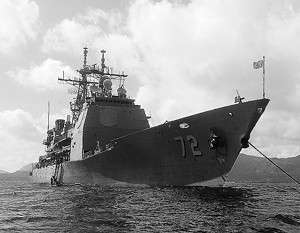 Ракетный крейсер США вошёл в Чёрное море