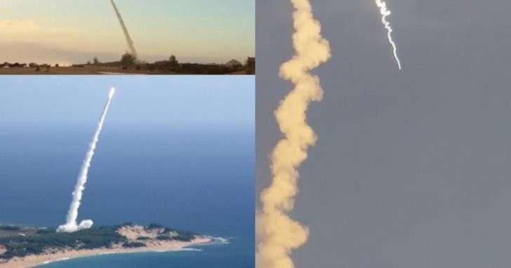 Super Strypi rocket Hawaiian launch met with failure