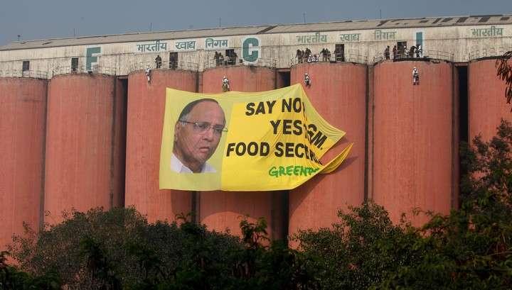 Власти Индии запретили Greenpeace работать в стране