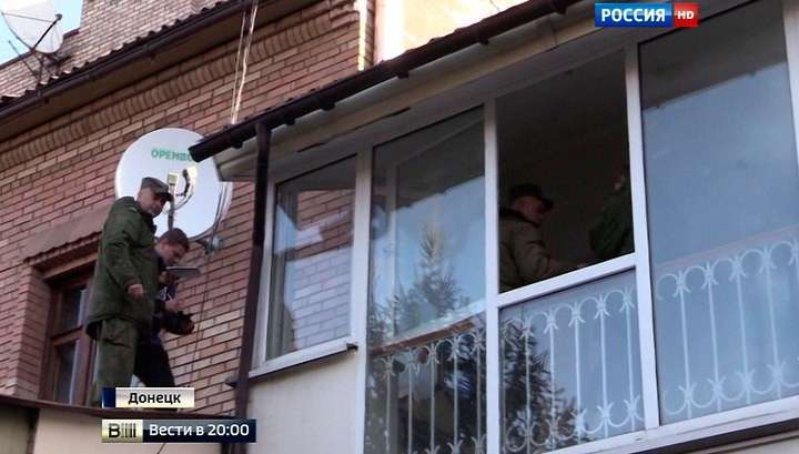 Снаряд от украинского «Града» влетел в квартиру в центре Донецка