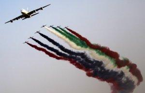 В Дубае начинает работу один из крупнейших мировых аэрокосмических салонов