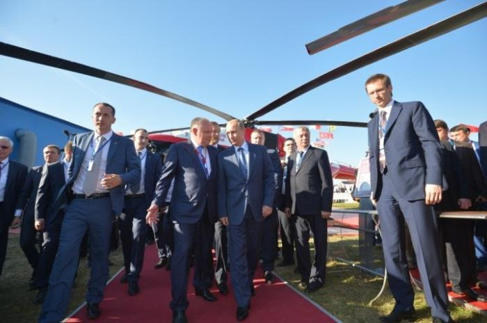 Русские вертолёты произвели фурор на выставке в Дубае