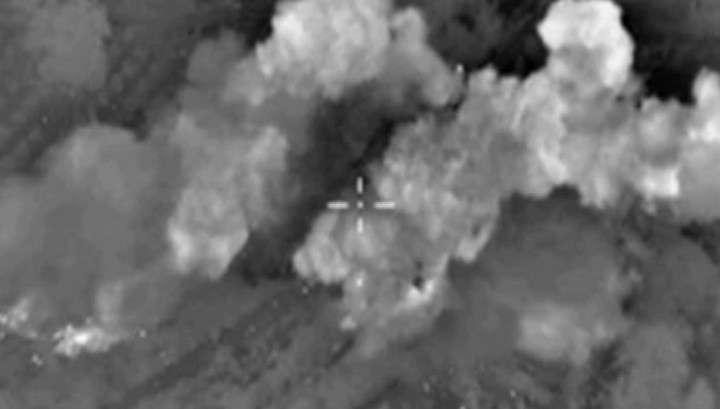 ВКС России уничтожили крупный лагерь боевиков в Сирии