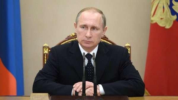 Президент России В.Путин провел заседание Совбеза РФ. Архив