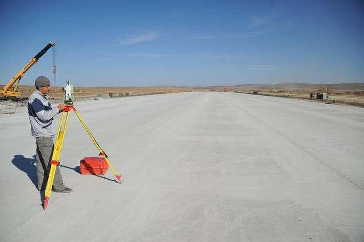 В Забайкалье полным ходом идёт реконструкция аэродрома Степь