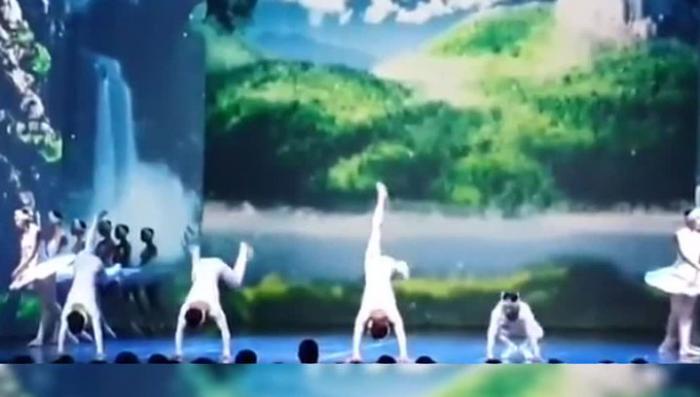 «Лебединое озеро» в исполнении китайцев оказалось цирком