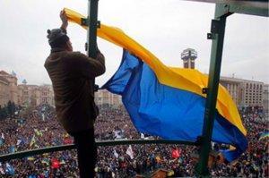 Майдановцы разделились на «петрушек» и «укропов»