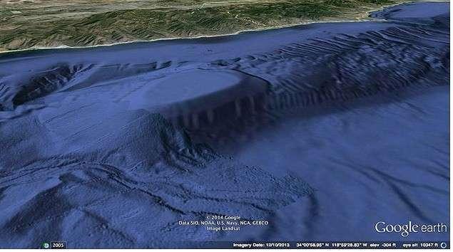 Обнаружен огромный подводный вход на базу ВМФ США у побережья Калифорнии