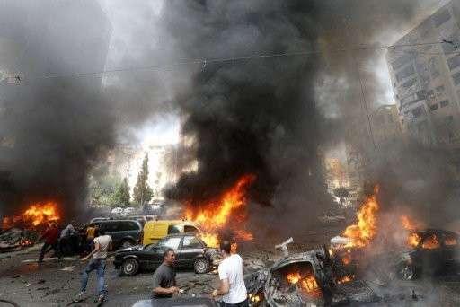 Двойной теракт в Бейруте: десятки людей погибли