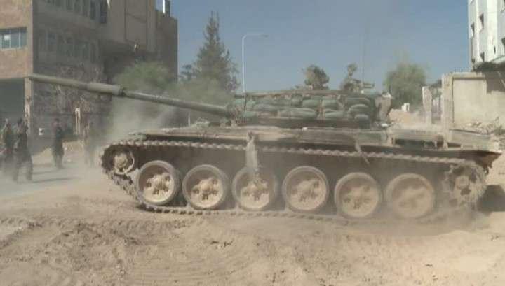 Сирийская армия продолжает стремительное наступление