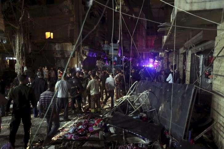В результате двойного теракта в Бейруте погибли десятки человек, сотни получили ранения