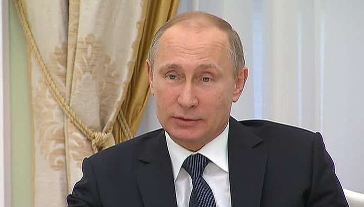 Владимир Путин рассказал журналистам об Украине и Сирии