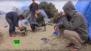 Гуманитарные организации возмущены условиями жизни в лагере для беженцев в Кале