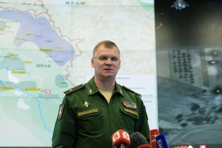 ВКС РФ уничтожили полевой склад боеприпасов и миномётные расчёты ИГ в Хомсе