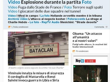 Атакованный театр «Батаклан» поддерживал дебилов из Charlie Hebdo
