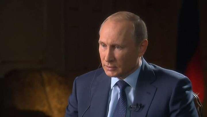 Владимир Путин заявил, что трагедия в Париже - свидетельство варварской сущности терроризма