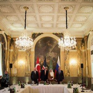 Сергей Лавров прибыл в Вену на переговоры по Сирии