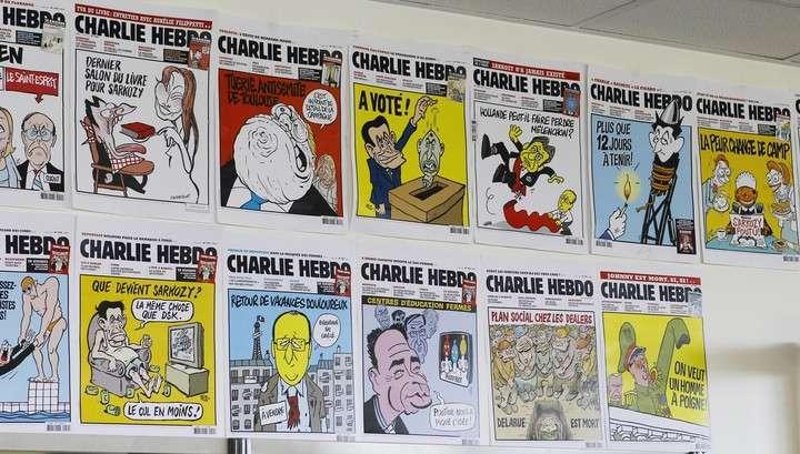 Недоумки из Charlie Hebdo пока не стали глумиться над убитыми в Париже