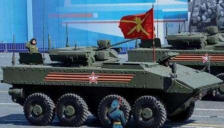 «Бумеранг» - самый вооружённый в мире БТР