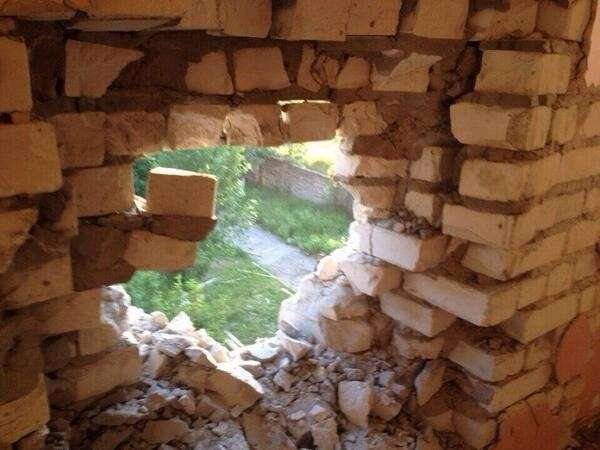 Славянск, Семёновка: кадры войны, 24 мая