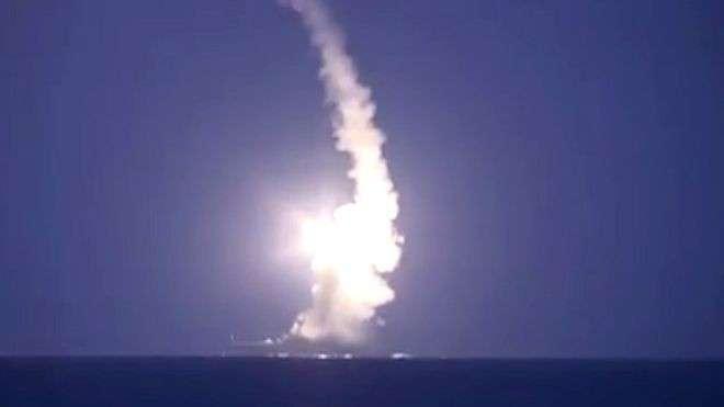 Российские военные нанесли удары крылатыми ракетами по оплоту ИГ в Сирии