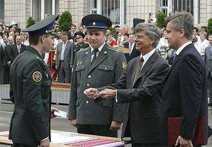 председатель СБУ Валентин Наливайченко посол США Уильямом Тейлор