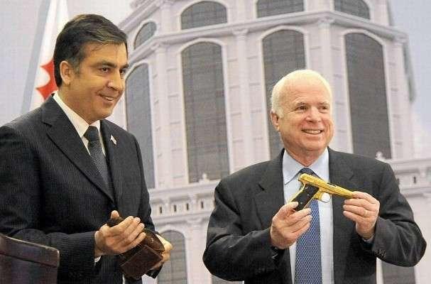 Саакашвили и Маккейн перебрасывают террористов из Украины в Сирию