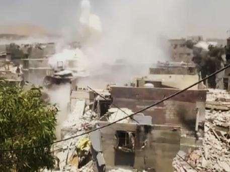 Боевики ИГИЛ бегут из Ракки
