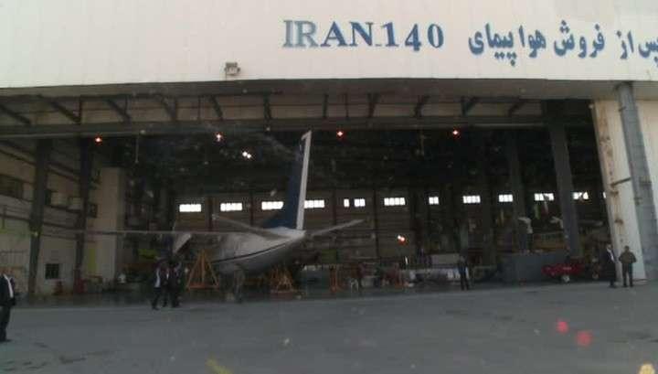 Россия поможет Ирану создать свой авиапром