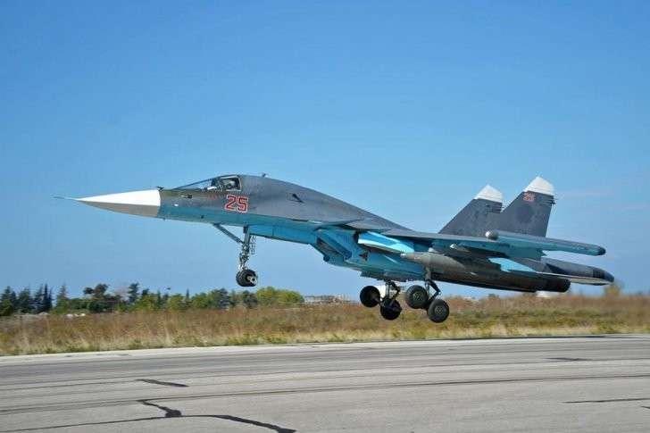 ВКС РФ нанесли третий массированный удар по террористам в Сирии