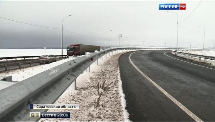 Саратов и Волгоград связала новая дорога