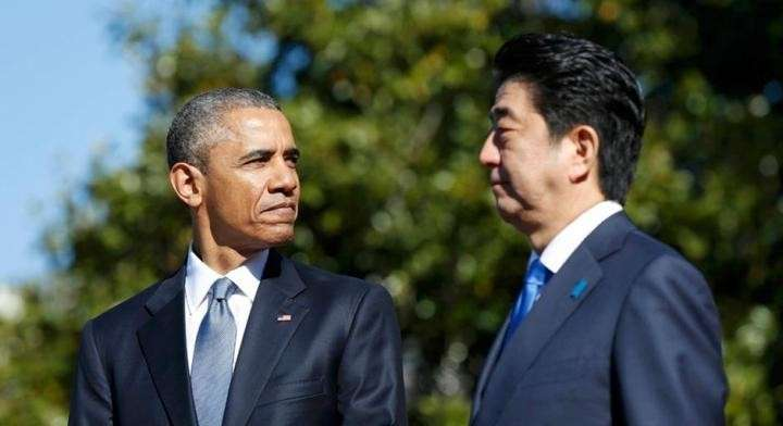 Премьер Японии присягнул на верность США