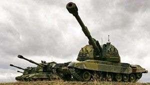 Наша артиллерия в Сирии